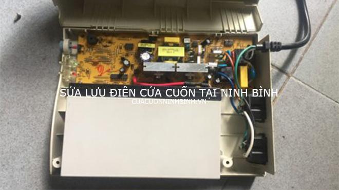 Sửa chữa lưu điện cửa cuốn tại Ninh Bình