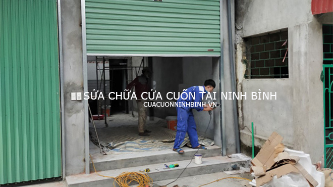 Sửa chữa cửa cuốn tại Ninh Bình