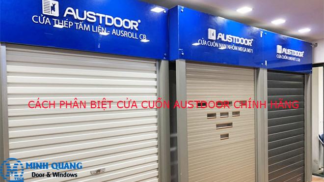 Cách phân biệt cửa cuốn Austdoor chính hãng như thế nào?